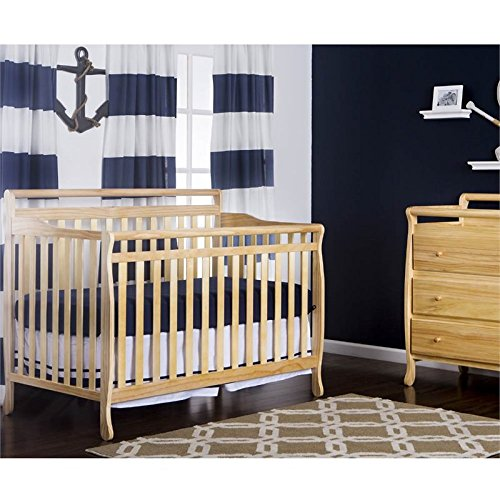 Dream On Me Liberty 5-in-1 Convertible Crib, Natural