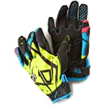 FOX DIRTPAW UNDERTOW YOUTH MX/OFFROAD GLOVES GREEN/BLUE LG
