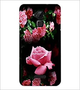 PrintDhaba Roses D-4163 Back Case Cover for COOLPAD NOTE 3 LITE (Multi-Coloured)