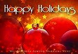NV Wilson Creek Almond Sparkling Happy Holidays Red Edition 750mL