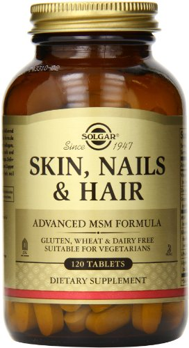Skin, Nails & Hair, Advanced MSM Formula, 120 Tablets