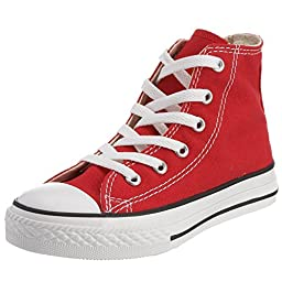 Converse Boys\' Youths Chuck Taylor Allstar Hi Red - 2 M US Little Kid