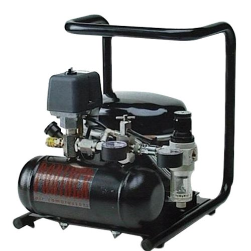 Ultra-Quiet Oil-lubricated Air Compressor, 4.5 cfm, 115 VAC