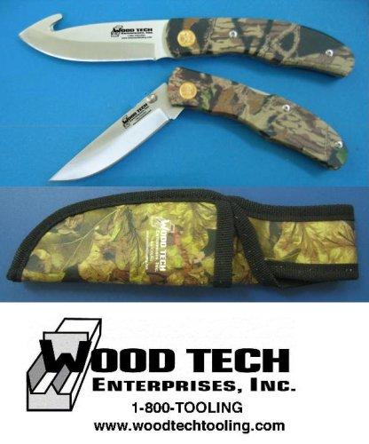 Buckmaster 2 pc. Camo Hunting Knife Set