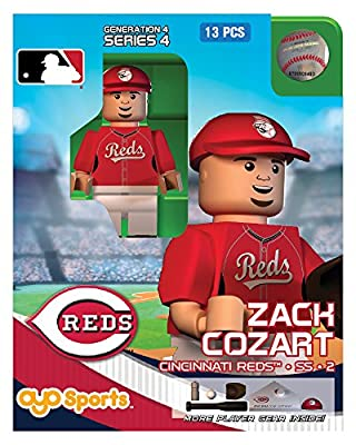 MLB Cincinnati Reds Zack Cozart Generation 4 Toy Figure