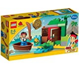 LEGO Duplo - Jake's Treasure Hunt - 10512 -Go on a LEGO DUPLO Treasure Hunt with Jake and Skully! Find the shiny gold doubloon and make a getaway in the boat before you're spotted! Then return it to the secret hideout before the Never Land pirates grab i