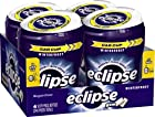 Eclipse Big E Winterfrost Gum, 60-Count Pieces (Pack of 4)