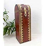 Antique Traditional Rajasthani Ethnic Wooden Wine Bottle Holder BoX