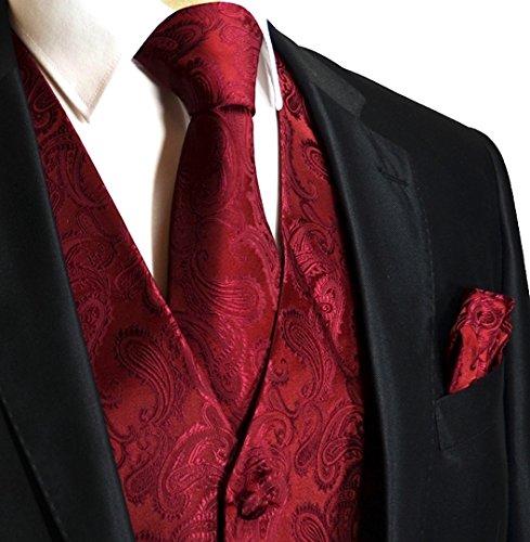 mens-3pc-paisley-design-dress-vest-tie-handkerchief-set-for-suit-or-tuxedo-l-chest-44-burgundy