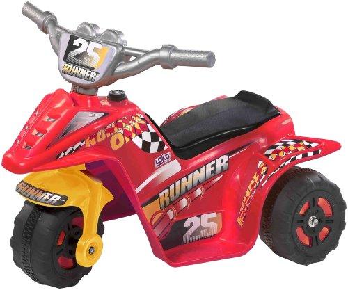Loko 99725-S - Triciclo elettrico, colore: Rosso