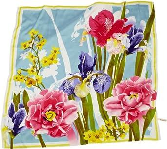 collection eighteen Women's Iris Poppy Scarf, Blizzard Aqua, One Size