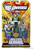 DC Universe Justice League Unlimited Exclusive Action Figure 3-Pack Martian Manhunter, Guy Gardner & Batman [Classic Detective]