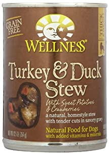 Wellness Turkey & Duck Stew With Sweet Potatoes & Cranberries (12x12.5Oz) by Wellness Pet Products