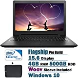 2017 Lenovo Newest Ideapad 15.6 Inch HD Flagship High Performance Laptop PC, Intel Celeron N3060 1.60 GHz Dual-Core...
