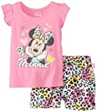 Disney Baby Baby-Girls Infant Disney's Minnie Mouse Short Set