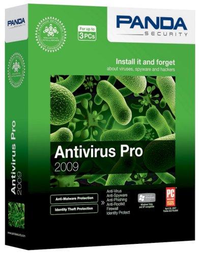 Купить антивирус Panda Software Panda Antivirus Pro 2009 по низкой цене с д
