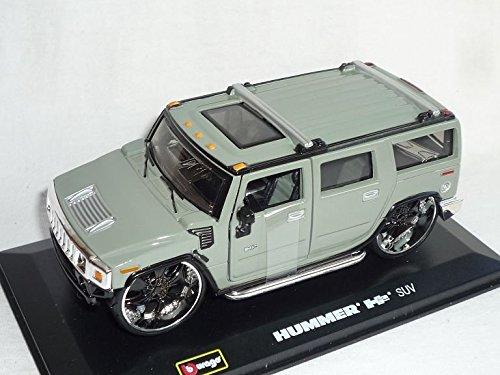 hummer-h2-h-2-suv-grau-1-32-bburago-burago-modellauto-modell-auto