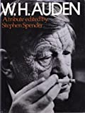 W.H.Auden: A Tribute (0297768840) by Stephen Spender