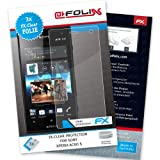 AtFoliX FX-Clear screen-protector for Sony Xperia Acro S / Xperia Acro HD (3 pack) - Crystal-clear screen protection!