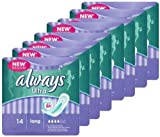 112x Always Ultra Sanitary Towels Long Pads,Feminine Care (8x14 Packs)