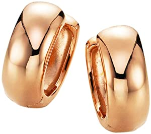 Spirit - New York Damen-Creolen Silber vergoldet 94007897