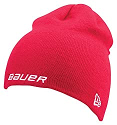 Bauer Men's Knit Toque, Red, One Size
