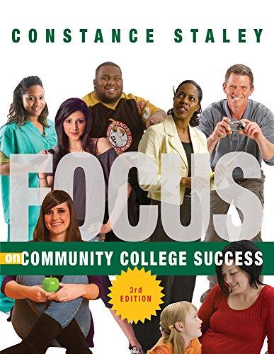 Focus On Community College Success front-1012722