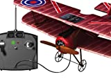 Silverlit X-Twin Sopwith Camel 2-Channel Radio Control Aeroplane (Colour and Frequency Varies)
