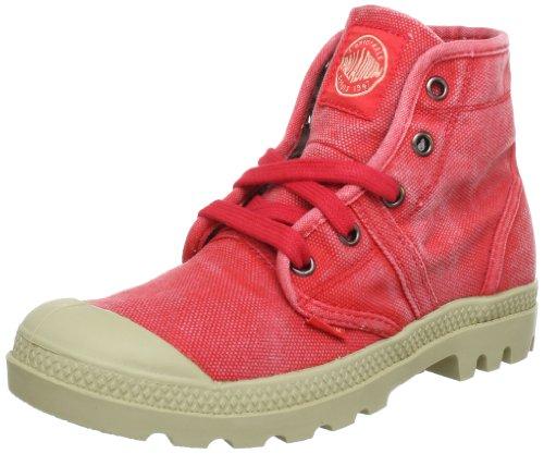 Palladium PALLABROUSE ~M 92477-615-M, Stivaletti donna, Rosso (Rot (CAYENNE RED)), 39