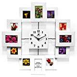 "Infinity Instruments Time Capsule-15"" Resin Wall Clock"
