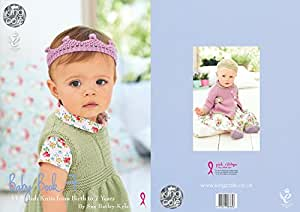 King Cole Knitting Patterns To Download : Amazon.com: King Cole Baby Book Seven 7 Knitting Booklet Double Knitting Comf...
