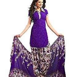Shree Hari Creation Women's Poly Cotton Unstitched Dress Material (3844_Multi-Coloured_Free Size)