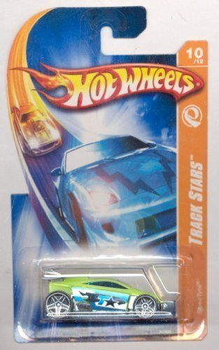 Hot Wheels 2007-118/156 Track Stars 10/12 GREEN SpecTyte 1:64 Scale