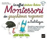 Le coffret écriture-lecture Montessori des graphèmes rugueux de Balthazar...