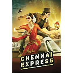 Chennai Express - Blu ray  (Hindi Film / Bollywood Movie / Indian Cinema Blu Ray) 2013 [Blu-ray]