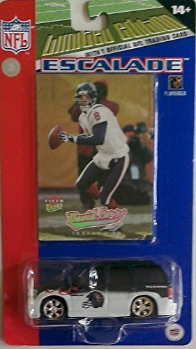 houston-texans-limited-edition-mini-cadillac-escalade-suv-car-with-david-carr-football-card-by-nfl