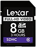 Lexar Full-HD 8GB Class 6 High Speed SDHC Video Memory Card