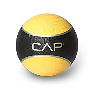 Cap Barbell HHKC-008 Medicine Ball , 8 Pounds (Yellow)