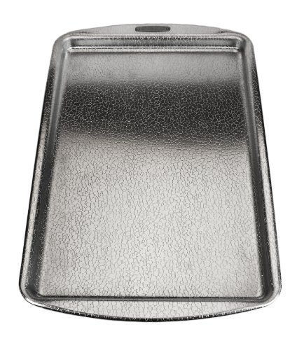 Doughmakers Aluminum Nonstick, Original Pebble Pattern, Commercial 10-inch by 15-inch Jelly Roll Pan by Fox Run Craftsmen (Doughmaker Jelly Roll Pan compare prices)