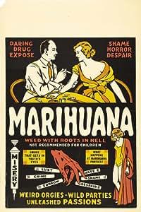 Amazon.com - Marihuana Movie Poster (11 x 17 Inches - 28cm
