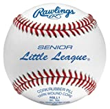 Rawlings RSLL1-BLEM Senior Little League Leather Baseball (Blemished) (Sold in Dozens)