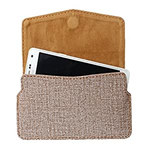 DooDa PU Leather Pouch Case Cover With Card / ID Slots For Lenovo S880