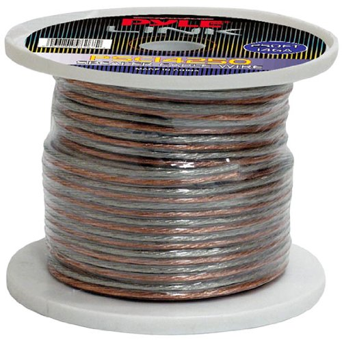 Pyle Psc14250 14-Gauge 250 Feet Spool Of High Quality Speaker Zip Wire