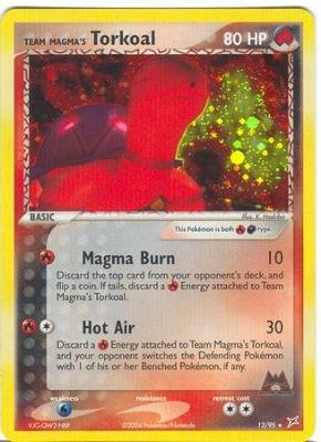 Team Magma's Torkoal - EX Team Aqua vs. Team Magma - 12 [Toy]