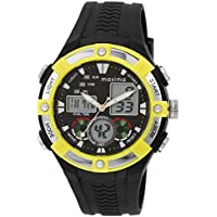 Maxima Fiber Analog-Digital Black Dial Men's Watch - 28670PPAN