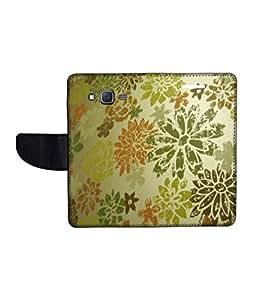 KolorEdge Printed Flip Cover For Samsung Galaxy J7 Multicolor - (1479-55KeMLogo12370SamJ7)