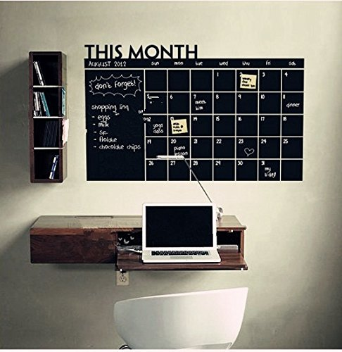 Blogger Removable This Monthly Plan Chalkboard Chalk Board Stick ...