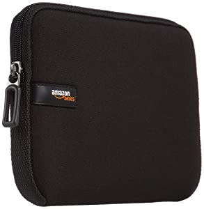 AmazonBasics 8-Inch Black Sleeve for iPad Mini / Samsung Galaxy Tablet