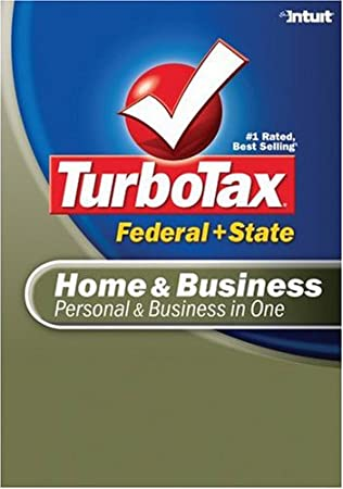 TurboTax Home & Business Federal + State 2007 [Download] [OLD VERSION]