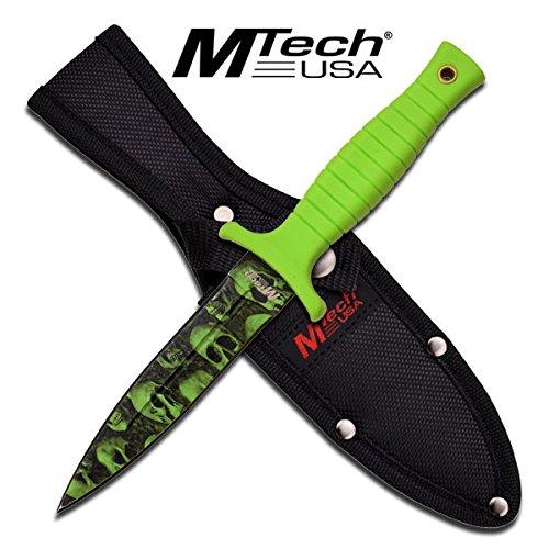 New M Tech Zombie Combat /Boot Dagger Mt097Gn